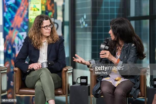 "Anne Rosellini and Debra Granik visit Build Series to discuss ""Leave No Trace"" at Build Studio on June 26, 2018 in New York City."