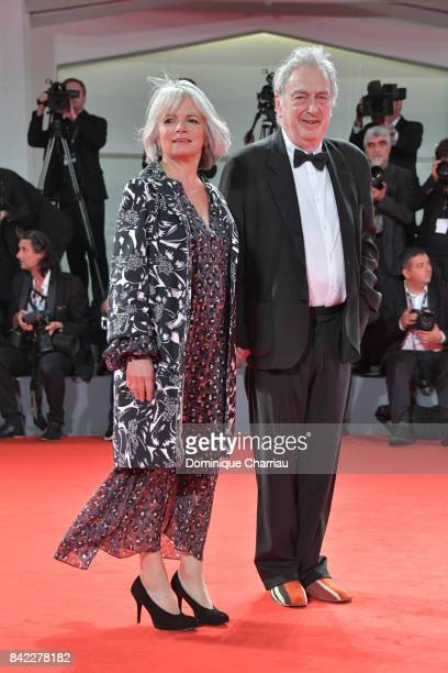 Anne Rothenstein and Stephen Frears walks the red carpet ahead of the 'Victoria & Abdul' screening And Jaeger-LeCoultre Glory To The Filmaker Award...
