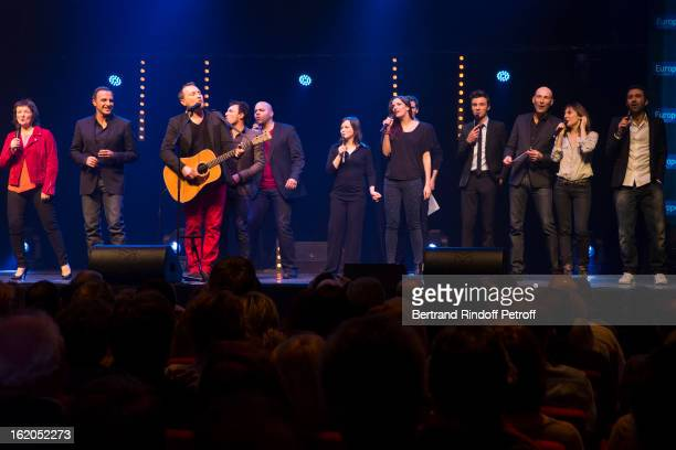 Anne Roumanoff Nikos Aliagas Oldelaf Willy Rovelli Frederic Sigrist Anais Petit Charlotte Gabris Tom Villa Nicolas Canteloup Camille Chamoux and...