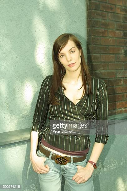 Die Wache KölnDelbrück Schauspielerin Promi PNr490/2003 LK Foto Peter Bischoff/E Veröffentlichung nur gegen Honorar und Beleg