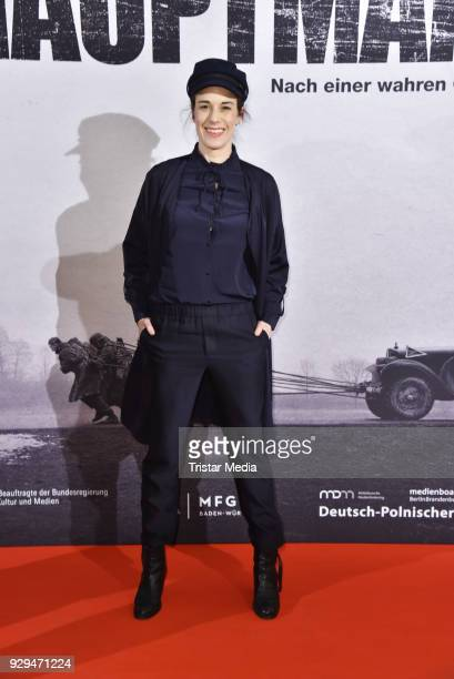 Anne Schaefer attends the premiere of 'Der Hauptmann' at Kino International on March 8 2018 in Berlin Germany