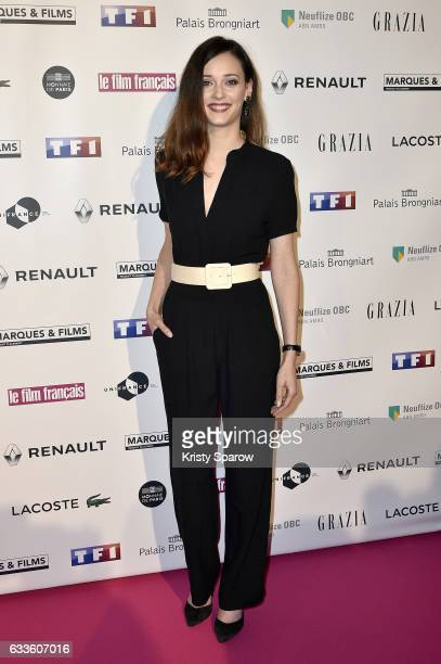 Anne Serra attends the 'Trophees Du Film Francais' 24th Ceremony at Palais Brongniart on February 2 2017 in Paris France