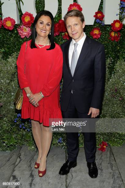 Anne Shaffer and Tom Osborne attend The Museum of Modern Art's Party in the Garden at MOMA on June 5 2017 in New York City