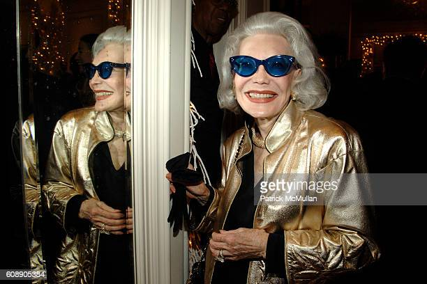 Anne Slater attends HOUSE GARDEN host reception for TONY DUQUETTE by WENDY GOODMAN and HUTTON WILKINSON at Bergdorf Goodman on November 14 2007 in...