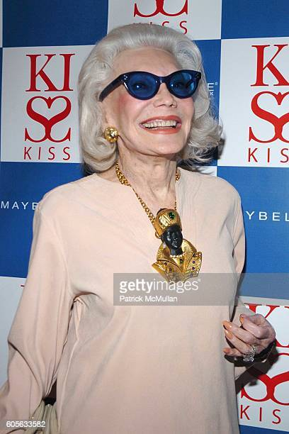 Anne Slater attends MAYBELLINE NEW YORK hosts the Launch of PATRICK MCMULLAN's Kiss Kiss Book at The Four Seasons Restaurant on February 1 2006 in...