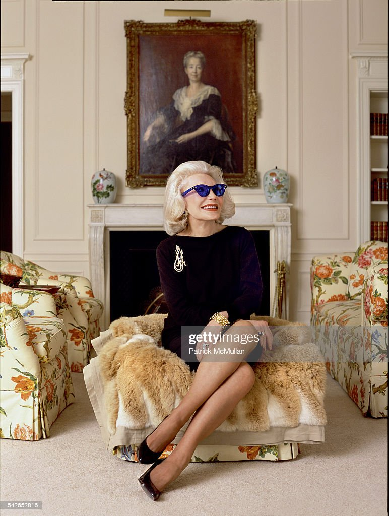 Anne Slater attends poses for a portrait in her home on January 23, 2004 in New York City.