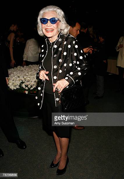Anne Slater attends the launch of Bill Blass' new frangrance in The Grill Room at The Four Seasons Restaurant February 6 2007 in New York City