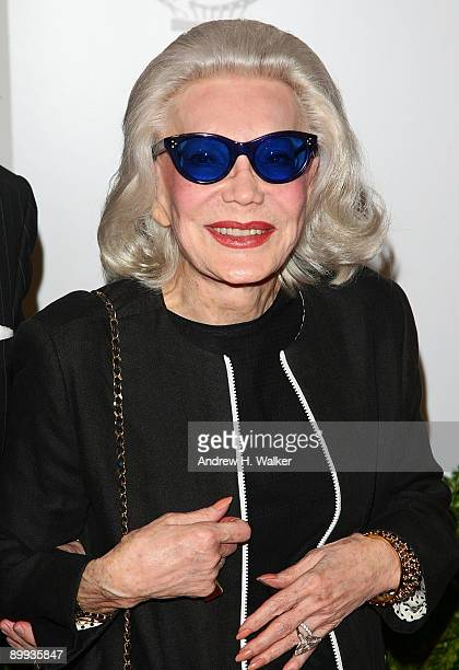 Anne Slater attends the New York special screening of The September Issue at The Museum of Modern Art on August 19 2009 in New York City