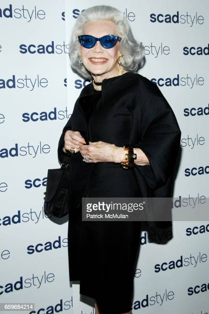 Anne Slater attends The SCAD Style Etoile 2009 Awards Gala at James Cohan Gallery on March 23 2009 in New York City