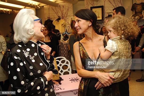 Anne Slater Cynthia Rowley and Gigi Powers attend CYNTHIA ROWLEY Celebrates Her New Book SLIM A FANTASY MEMOIR @ BERGDORF GOODMAN at Bergdorf Goodman...