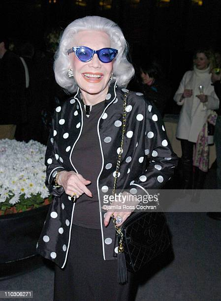 Anne Slater during Bill Blass Launches New Fragrance Cocktail Party at The Four Seasons Restaurant in New York City New York United States