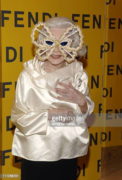 Anne Slater during Fendi Presents The All Hollows Eve Party at 25 Broadway in New York City New York United States