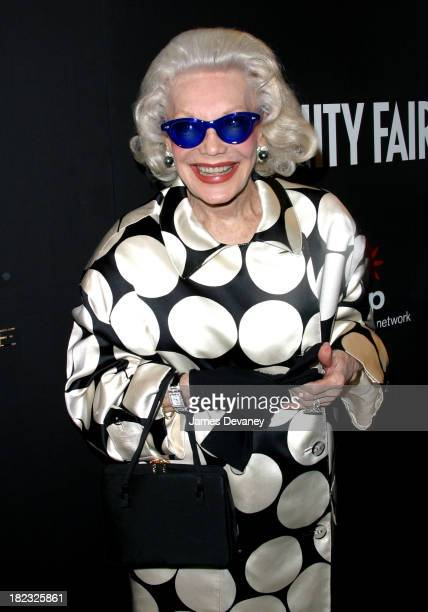 Anne Slater during Vanity Fair In Concert Series Launch Party at Donna Karan New York Flagship in New York City New York United States