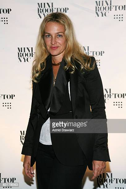 """Anne Slowey attends the """"Mini Rooftop NYC"""" Hosts V Magazine Celebration at One Space on September 10, 2008 in New York City"""