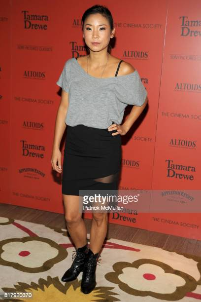 Anne Son attends THE CINEMA SOCIETY ALTOIDS host a screening of 'TAMARA DREWE' at Crosby Street Hotel on September 27 2010 in New York City