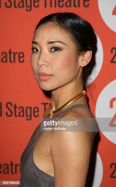 Anne Son attends the OffBroadway Opening After Party for 'Smart People' at the Four at Yotel on February 11 2016 in New York City