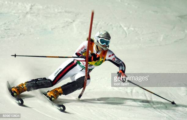 Anne Sophie BARTET Slalom Dames Championnats du Monde de Ski a ARE 2007