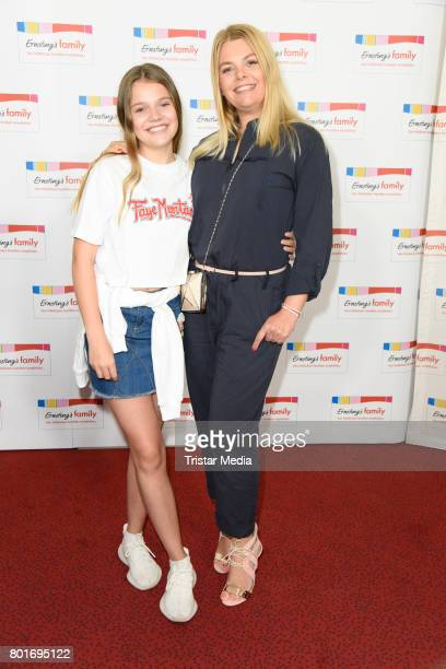 Anne Sophie Briest and her daughter Faye Montana attend the Ernsting's Family Fashion Show at Stage Operettenhaus on June 26 2017 in Hamburg Germany