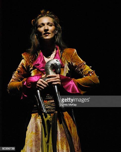 Anne Sophie Hoffman performs during the Cavalia sneak preview at Atlantic Station on October 26 2009 in Atlanta Georgia