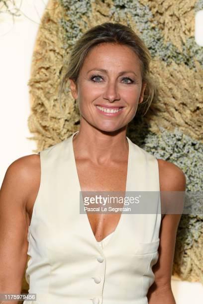 Anne Sophie Lapix attends the Opening Season Gala Opera National De Paris At Palais Garnier on September 20 2019 in Paris France