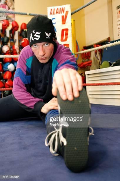 Anne Sophie MATHIS 1811200 Entrainement pour le Championnat du monde de boxe du Dombasle sur Meurthe
