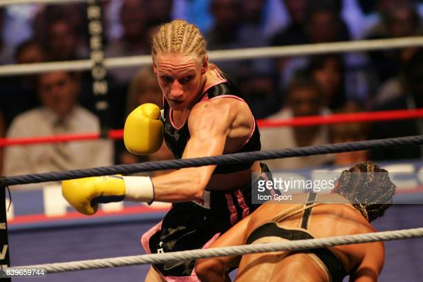 Anne Sophie MATHIS / Myriam LAMARE Championnat du Monde WBA poids super legers Marseille