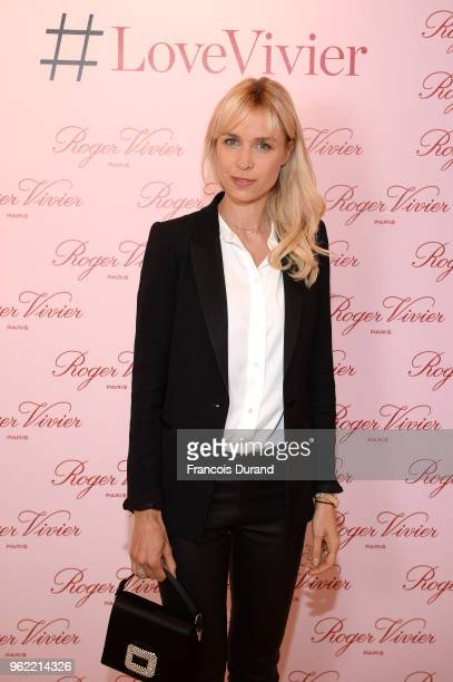 Anne Sophie Mignaux attends Roger Vivier '#LoveVivier' Book Launch Cocktail on May 24 2018 in Paris France