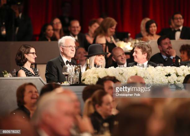 Anne Stringfield Steve Martin honoree Diane Keaton and Martin Short during American Film Institute's 45th Life Achievement Award Gala Tribute to...