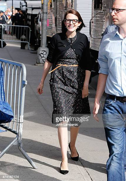 Anne Stringfield visits Late Show With David Letterman May 20 2015 at Ed Sullivan Theater on May 20 2015 in New York City