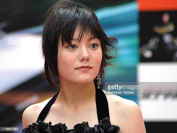 Anne Suzuki during 'Initial D' Tokyo Premiere Outside Greeting at Cine City in Tokyo Cine City Japan