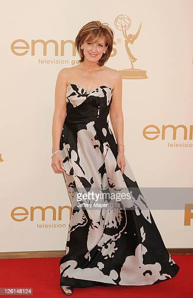 Anne Sweeney arrives at the 63rd Primetime Emmy Awards at the Nokia Theatre LA Live on September 18 2011 in Los Angeles California