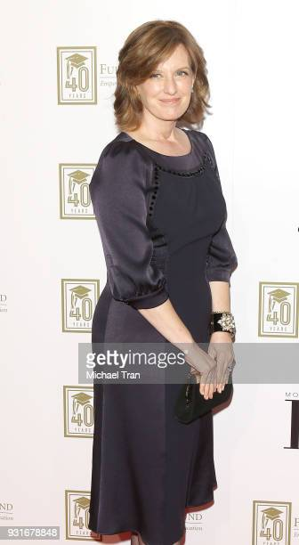 Anne Sweeney attends A Legacy of Changing Lives presented by The Fulfillment Fund held at The Ray Dolby Ballroom at Hollywood Highland Center on...
