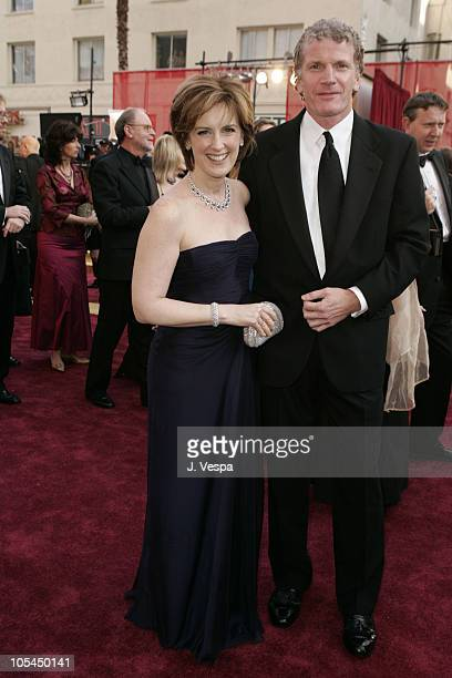Anne Sweeney CoChair Disney Media Networks and President DisneyABC Television Group and husband Phil Miller