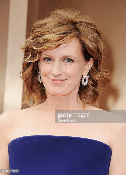 Anne Sweeney CoChair of Disney Media and President of the Disney/ABC Television Group attends the Oscars held at Hollywood Highland Center on March 2...
