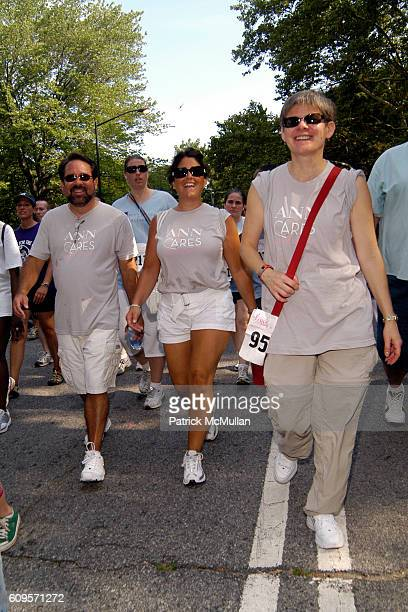 Anne Taylor Walkers attends ANNE TAYLOR Race For The Cure Team and Survivors at Central Park on September 9 2007 in New York City