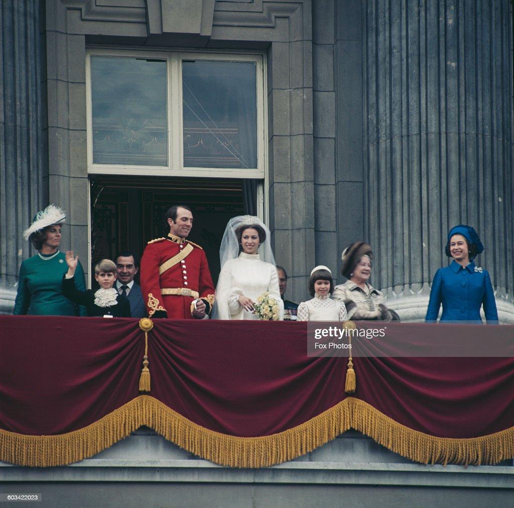 Princess Anne's Wedding : News Photo