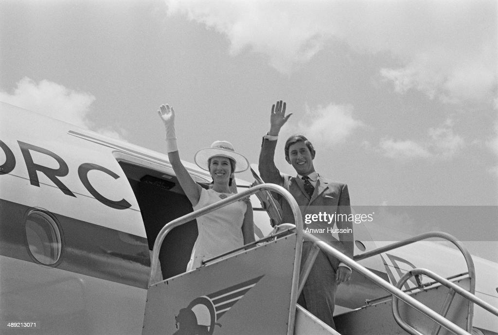 Charles And Anne In Kenya : News Photo