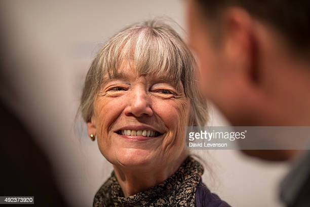Anne Tyler author of A Spool of Blue Thread at a Photocall for the Man Booker Prize 2015 Shortlisted Authors at the Royal Festival Hall on October 12...