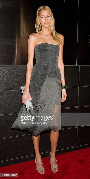 Anne V attends the 7th Annual New Yorkers for Children Spring Dinner Dance at the Mandarin Oriental Hotel on April 8 2010 in New York City