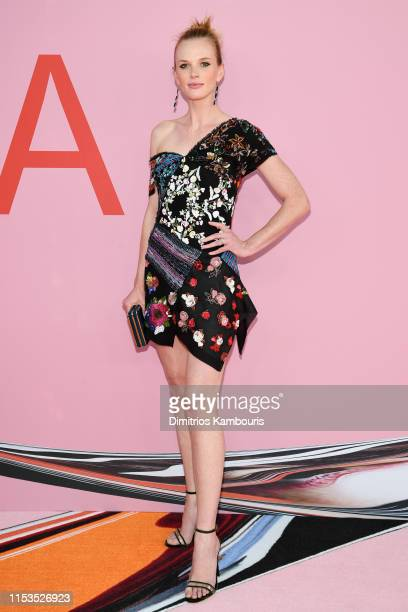 Anne V attends the CFDA Fashion Awards at the Brooklyn Museum of Art on June 03 2019 in New York City