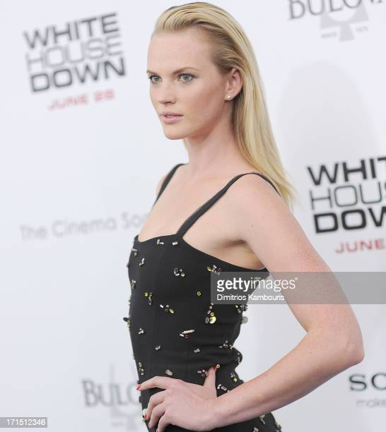 Anne V attends 'White House Down' New York Premiere at Ziegfeld Theater on June 25 2013 in New York City