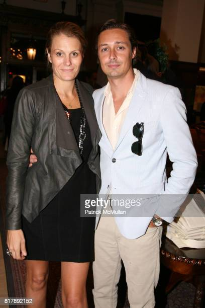 Anne Vincent and Charles Nordeen attend The launch of True Prep at Brooks Brothers on September 14 2010 in New York