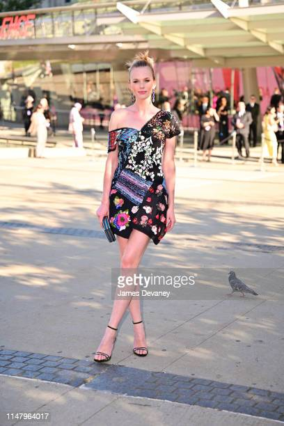 Anne Vyalitsyna arrives to the 2019 CFDA Fashion Awards at Brooklyn Museum on June 3, 2019 in New York City.