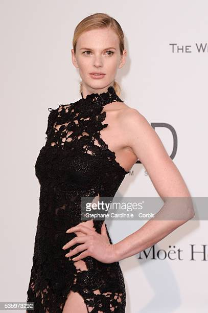 Anne Vyalitsyna at the amfAR's 21st Cinema Against AIDS Gala at Hotel du CapEdenRoc during the 67th Cannes Film Festival