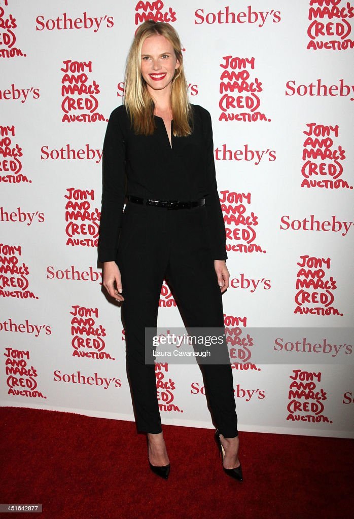 Anne Vyalitsyna attends 2013 (RED) Auction Celebrating Masterworks Of Design and Innovation on November 23, 2013 in New York City.