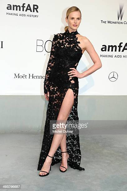 Anne Vyalitsyna attends amfAR's 21st Cinema Against AIDS Gala Presented By WORLDVIEW BOLD FILMS And BVLGARI at the 67th Annual Cannes Film Festival...