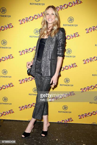 Anne Vyalitsyna attends Refinery29's 29Rooms San Francisco Turn It Into Art Opening Party 2018 at Palace of Fine Arts on June 20 2018 in San...