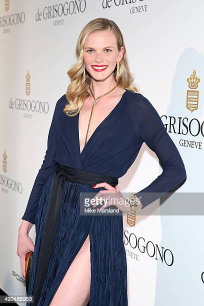 Anne Vyalitsyna attends the De Grisogono dinner party in collaboration with Gyunel during Cannes film festival at Hotel du CapEdenRoc on May 20 2014...