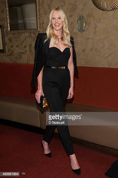 Anne Vyalitsyna attends the United Nations 2014 Equator Prize Gala at Avery Fisher Hall Lincoln Center on September 22 2014 in New York City