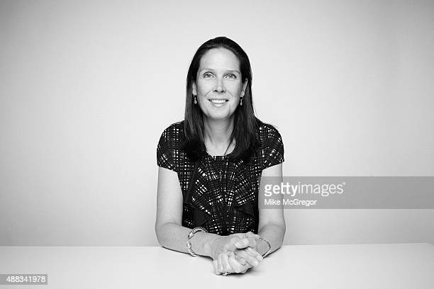 Anne Wade, Trustee and Director, F.B. Heron Foundation, is photographed for Institutional Investor Magazine on May 15, 2015 in New York City....